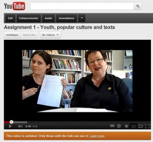 Watch Kelli and Helen's assignment 1 advice
